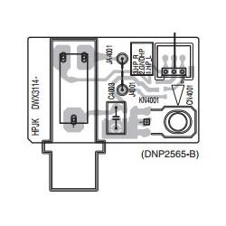 Placa de auriculares para Pioneer DJM-350