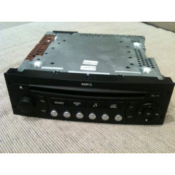 Radio cd 207-307 montado en Peugeot
