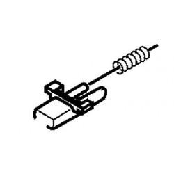 Botón de extracción con muelle de carátula para varias auto-radios Pioneer