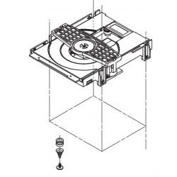 Mecanismo de carga de disco para varios modelos Pioneer
