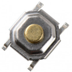 Microswitch 4-Pin SMD 4x4x1.5 mm