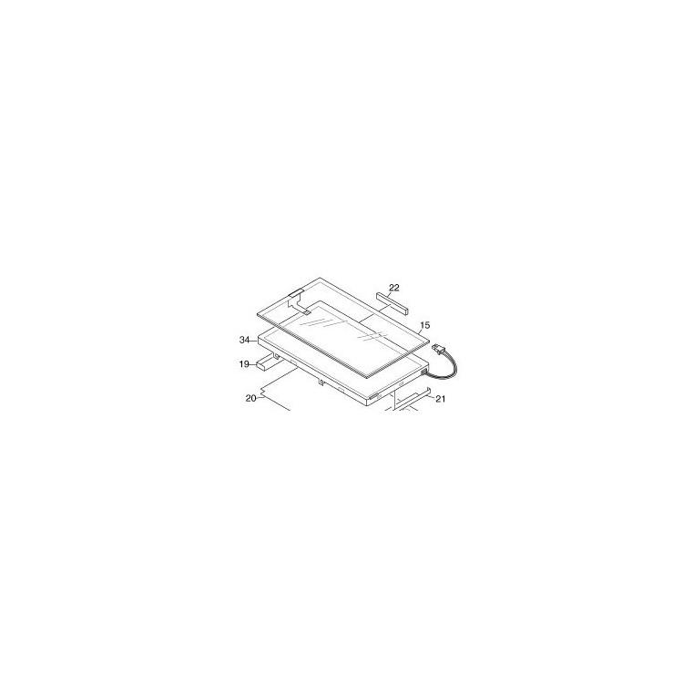 TFT para navegador Pioneer AVIC-X1
