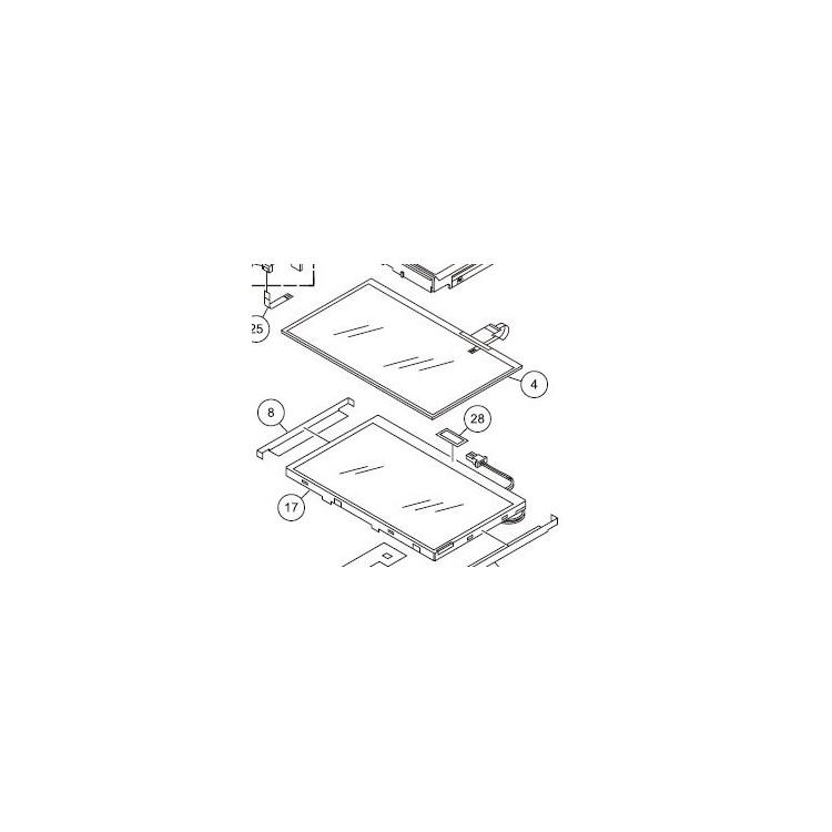 TFT para navegador Pioneer AVIC-X3 - CWX3264
