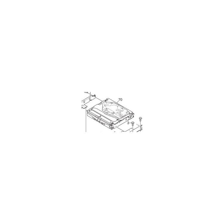 Mecánica completa para navegador Pioneer AVIC-HD1/HD3 - CXK6341