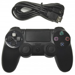 Mando Dualshock con cable para PS4 (PlayStation 4)