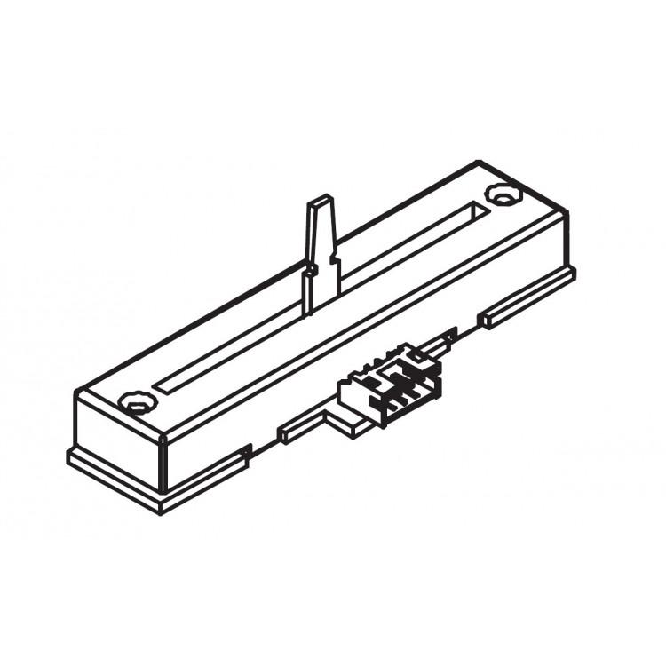 Potenciómetro deslizante para DJM-250-W (Canal Crossfader) - 704-DJM250-A032-HA