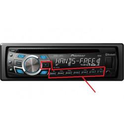 Botonera para Radio CD Pioneer
