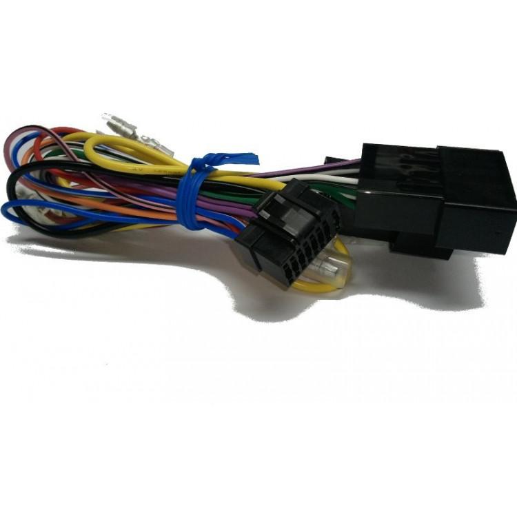 Cable de alimentacion Radio CD Alpine (Conector negro) - 09-02252Z01-S