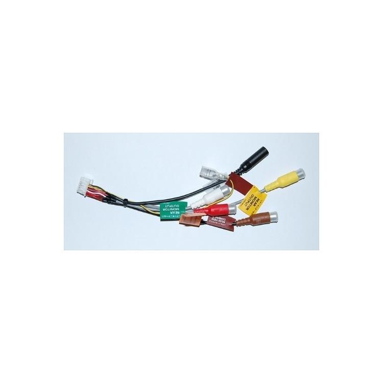 Cable de salida/entrada RCA para AVIC-HD1BT/AVIC-HD3 modelo 2 - cde8084