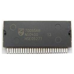 70055AB Integrado de potencia y alimentación montado en diversos radio cd originales FORD