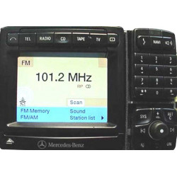 Navigation unit comand 2.5...