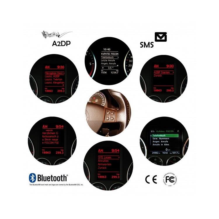 Interface FISCON BASIC PLUS manos libres bluetooth para navegadores originales Volkswagen
