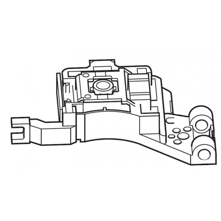 Optical pick-up head QAL1226-001 KENWOOD