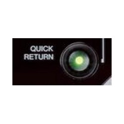 QUICK RETURN button for...