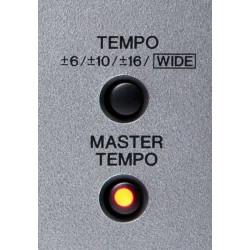 TEMPO/MASTER TEMPO button...